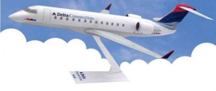 Flight Miniatures Delta Airlines CRJ-200