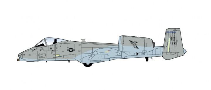 A-10C Thunderbolt II USAF 190th FS 124th Incirlik AB Turkey October 2016 HA1327 scale 1:72