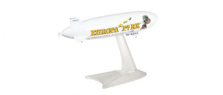 Europa Park Zeppelin NT registration D-LZFN Reederei Herpa 531139 scale 1:500