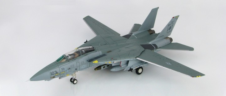 "F-14A ""Black Aces"" 158612 ""Delores"" USS Enterprise VF-41 Hobby Masters HA5218 scale 1:72"