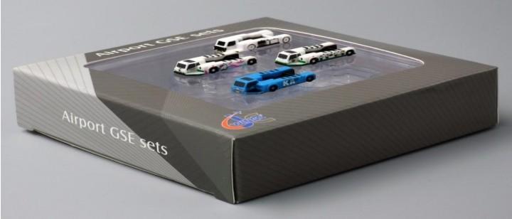 Push Back Tug set: KLM, Blank, Hello Kitty, Pink, JCWings JC4GSE005 1:400