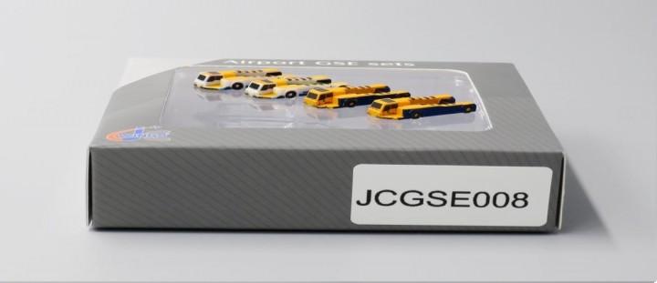 Push Back Tug set of 4: 2 x Papas,  2 x Haeco JCWings JC4GSE008 scale 1:400