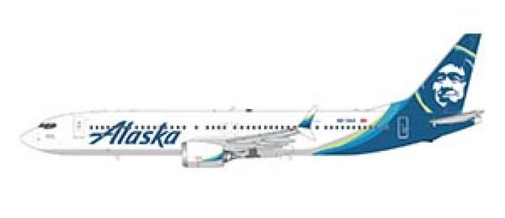 Alaska Boeing 737 MAX9 by Gemini 200 G2ASA855 scale1:200