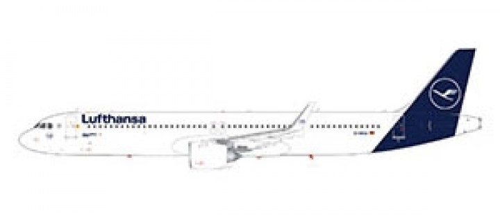 Lufthansa Airbus A321neo new livery Gemini 200 G2DLH742 scale 1:200