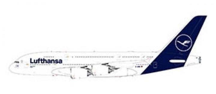 Lufthansa New Livery Airbus A380-800 Gemini 200 G2DLH785 scale 1:200