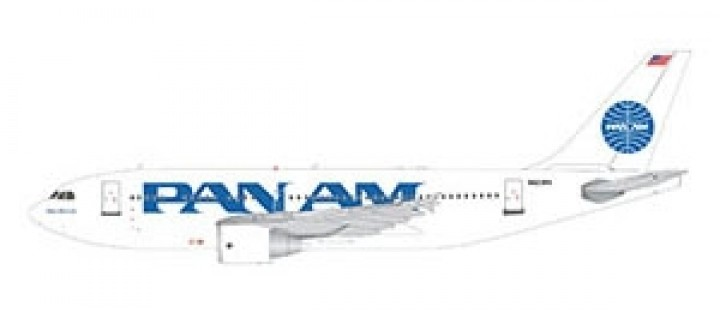 New Mould Pan Am Airbus A310-300 by Gemini 200 die-cast G2PAA859 scale 1:200