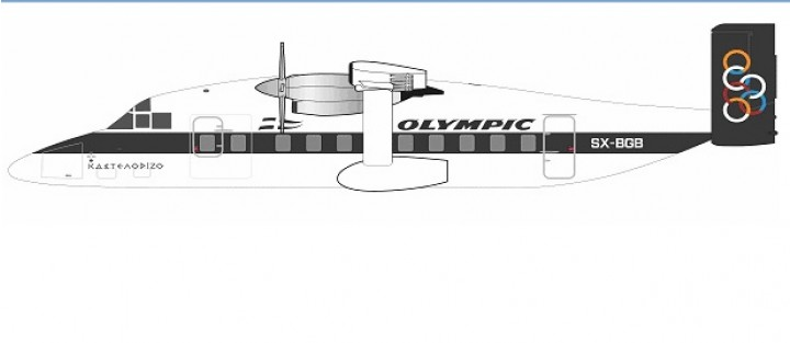 Aviation200 Olympic Airways Shorts 330-200