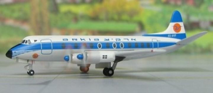 EL AL Arkia Viscount Vickers 800 4X-AVF