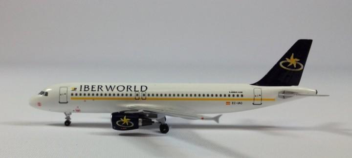 IBERWORLD  A320 EC-IAG 1:400