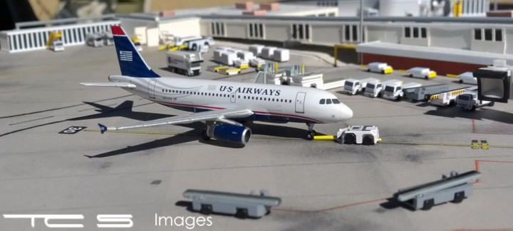 U.S. Airways A319 Reg# N801AW Gemini Jets GJUSA1397 1:400