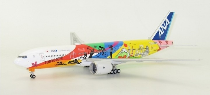 ANA All Nippon Airways B777-200ER  'HELLO TOKYO  2020 JET' JA741A  Phoenix 200033 Scale 1:200