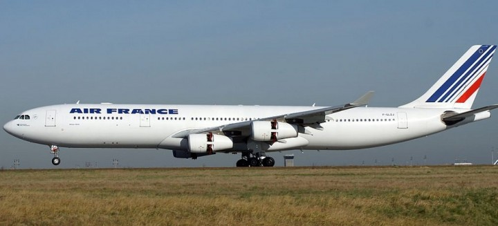 Air France Airbus A340-300 F-GLZJ JC Wings JC2AFR287 JCWings 1:200