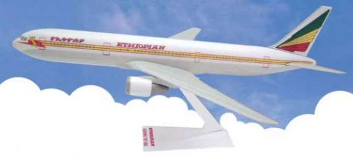 Flight Miniatures Ethiopian Airlines Boeing B767
