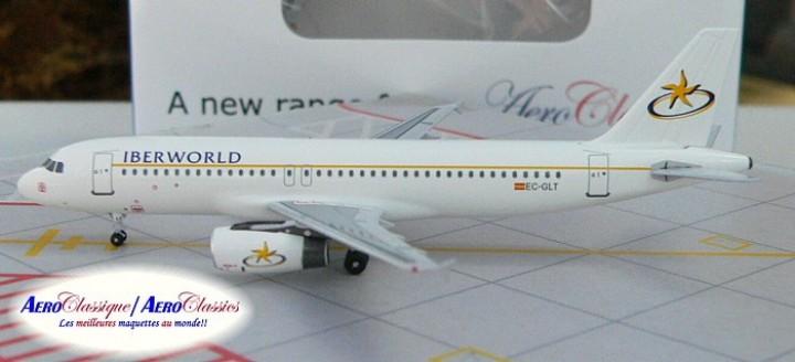Iberworld Airlines A320 EC-GLT  Scale 1:400