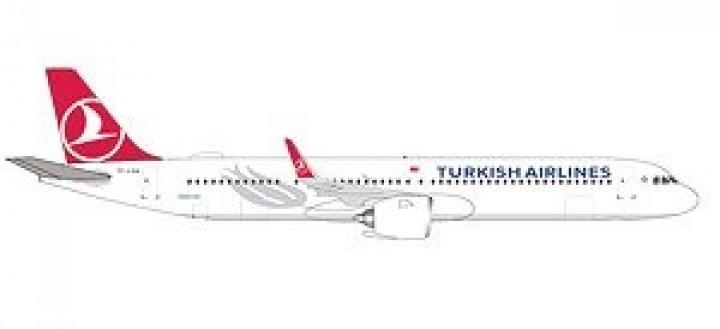 Turkish Airways Airbus A320neo  Herpa die cast HE532853 scale 1:500