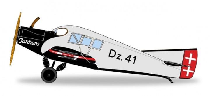 Danziger Luftpost Junkers F.13 Die Cast Herpa 019361 Scale 1:87