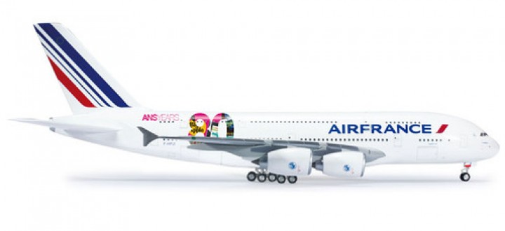Air France A380 80th Anniversary Herpa Wings Scale 1:200HE556248