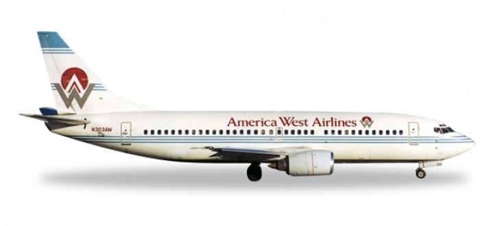 America West Boeing 737-300 Reg# N303AW Herpa 500302-001 Scale 1:500