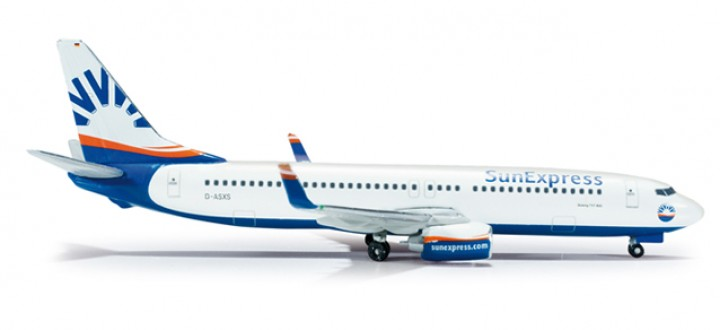 Sun Express Germany Boeing 737-800   Herpa 1:500