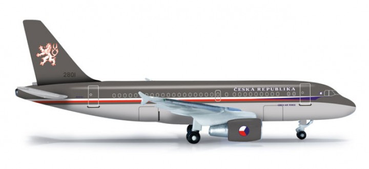 Sale! Czech Air Force A319CJ Scale 1:500 Die Cast Model HE523318