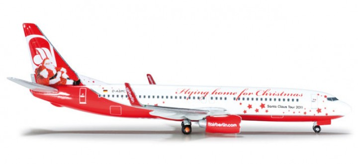 """Air Berlin Boeing 737-800 """"Flying home for Christmas"""" HE523448"""