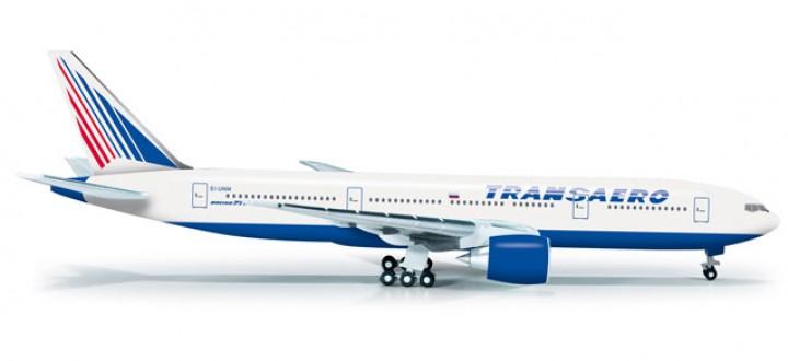 Transaero Airlines Boeing 777-200   HE523561