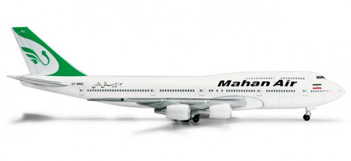Iran/ Mahan Air 747-300 Combi REG#EP-MND