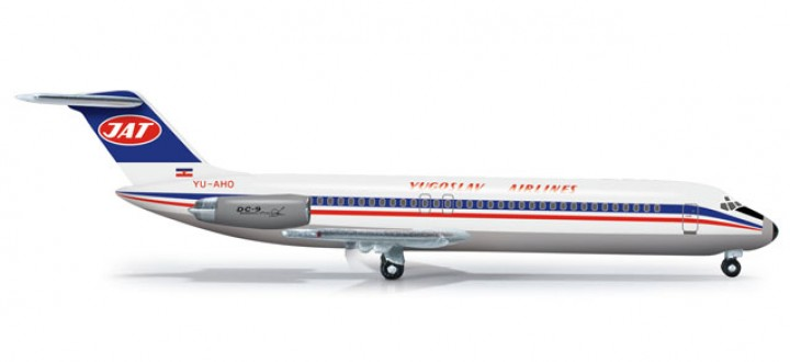 Jugoslovenski Aerotransport JAT Airways DC-9-30 HE524742