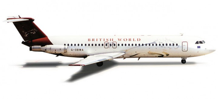 British World BAC1-11-500