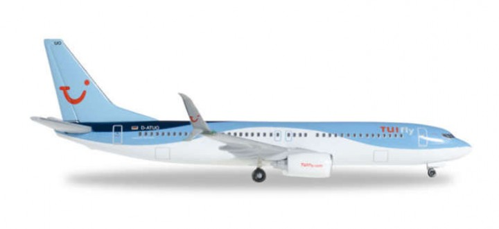 TUIFly Boeing 737-800 New Livery Reg# D-ATUO Herpa Wings 526692-001 Scale 1:500