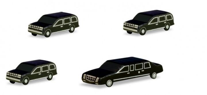 Scenix - Presidential Motorcade Set  Herpa 526913  1:500