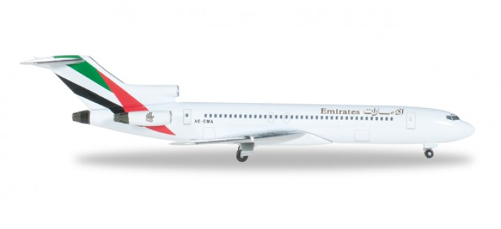 Emirates (United Arab Emirates) B727-200 Herpa HE526968 Scale 1:500