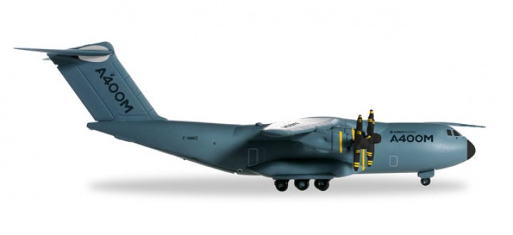 New Mould! Airbus A400M Atlas Reg# F-WWMZ Grizzly 4 527040 Herpa 1:200