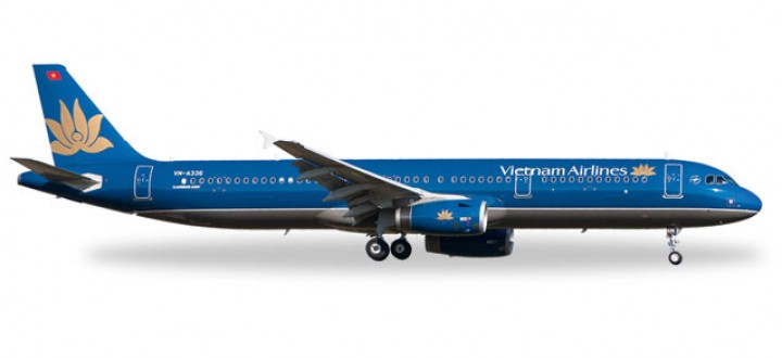 Vietnam Airlines Airbus A321 Herpa 527149 Scale 1:500