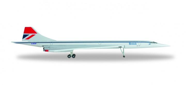 British Airways Concorde Negus Colors Herpa 527477-001 scale 1:500