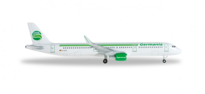 Germania (Germany) Airbus A321 HE527798 Scale 1:500