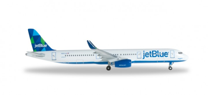 "Jetblue Airways (USA) Airbus A321 ""Mint"" HE527811"