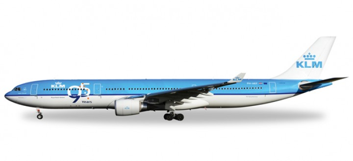 """KLM Airbus A330-300 """"95 Years"""" HE527903 Scale 1:500"""