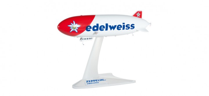 Edelweiss Air Zeppelin NT HE527958 Scale 1:500