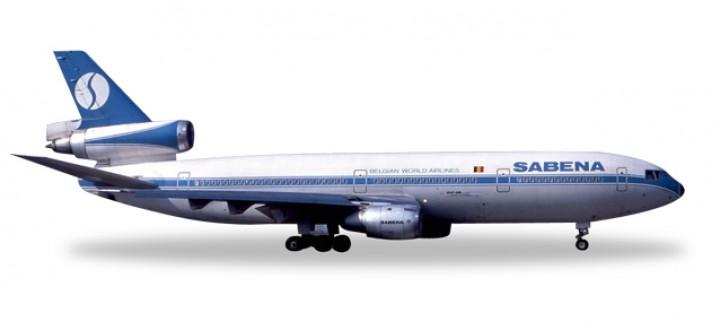 Sabena McDonnell Douglas DC-10-30 Reg# OO-SLA Herpa Wings HE528047 Scale 1:500