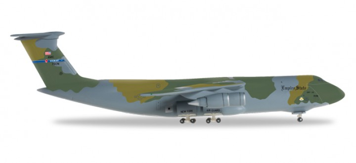 USAF Lockheed C-5A Galaxy, New York Air National Guard, 137th Airlift Squadron Herpa Wings HE528122 Scale 1:500