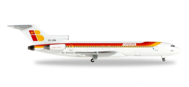 Iberia Boeing B727-200 Reg# EC-DDX Herpa 528467 Herpa Scale 1:500