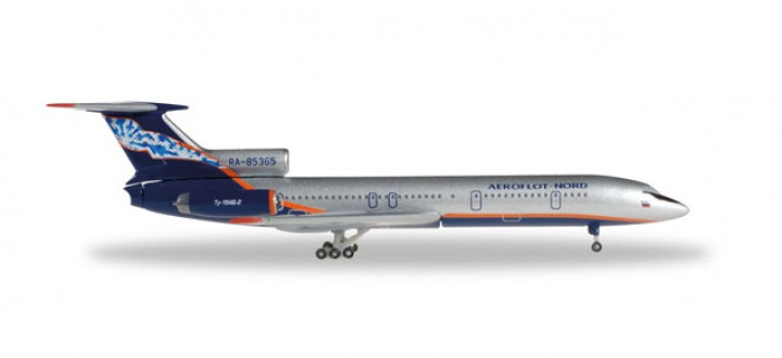 Aeroflot Tupolev TU-154B-2 Reg# RA-85365 Herpa 528764 Scale 1:500
