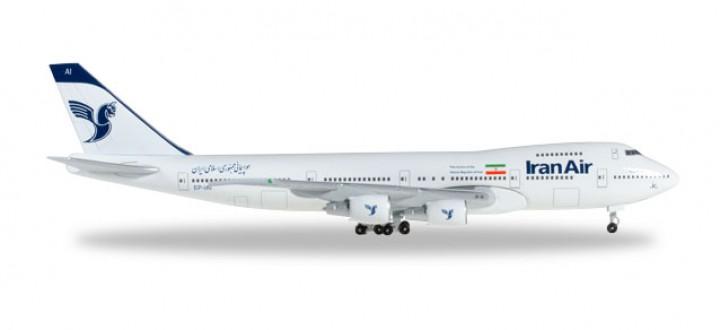 Iran Air B747-200 Reg# EP-IAI Herpa Wings 528887 Scale 1:500