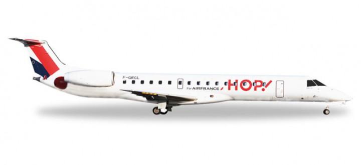 Hop! by Air France Embraer ERJ-145 Die-Cast Herpa 528900 1:500