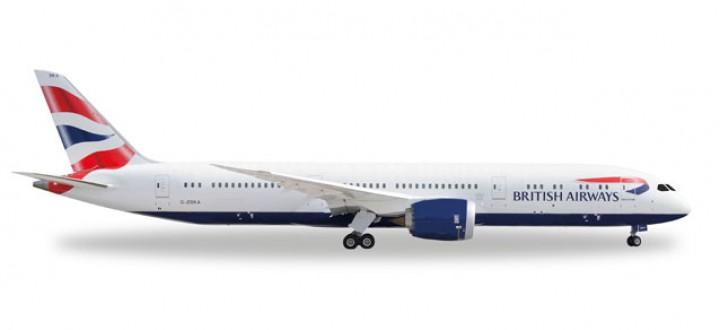 British Airways First Boeing 787-9 528948 Scale 1:500