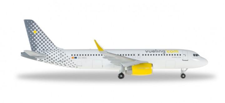 Vueling (Spain) Airbus A320 Sharklets Leonardo da Vueling Reg# EC-MES Herpa 528993-001 Scale 1:500