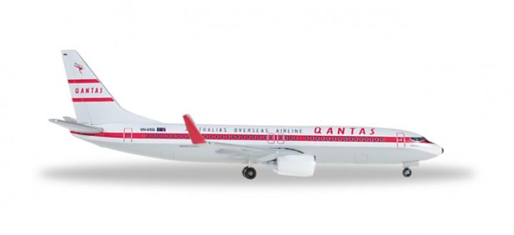 Qantas Retro Boeing 737-800 New Livery Reg# VH-VXQ Herpa Wings 529020 1:500