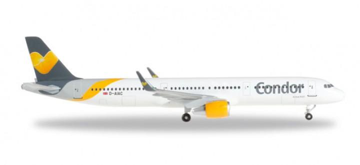Condor Airbus A321 Sharklets Reg# D-AIAC Herpa 529105 Scale 1:500
