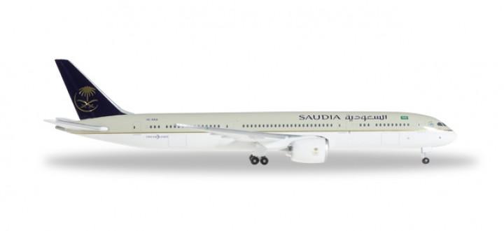 Saudia Airlines 787-9 Dreamliner Reg# HZ-ARA  السعودية Herpa Wings 529174 Scale 1:500